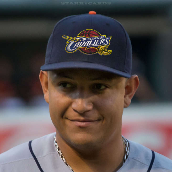 Miguel Cabrera ready to go for Cleveland Cavaliers