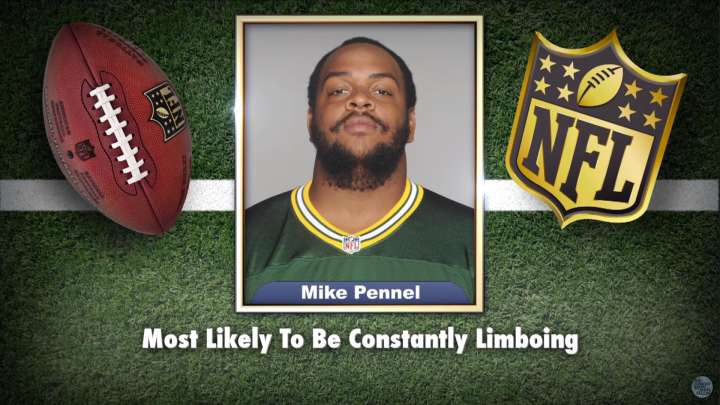 Mike Pennel featured on 'Tonight Show' Superlatives