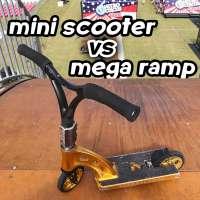 Mini scooter vs mega ramp starring Ryan Williams