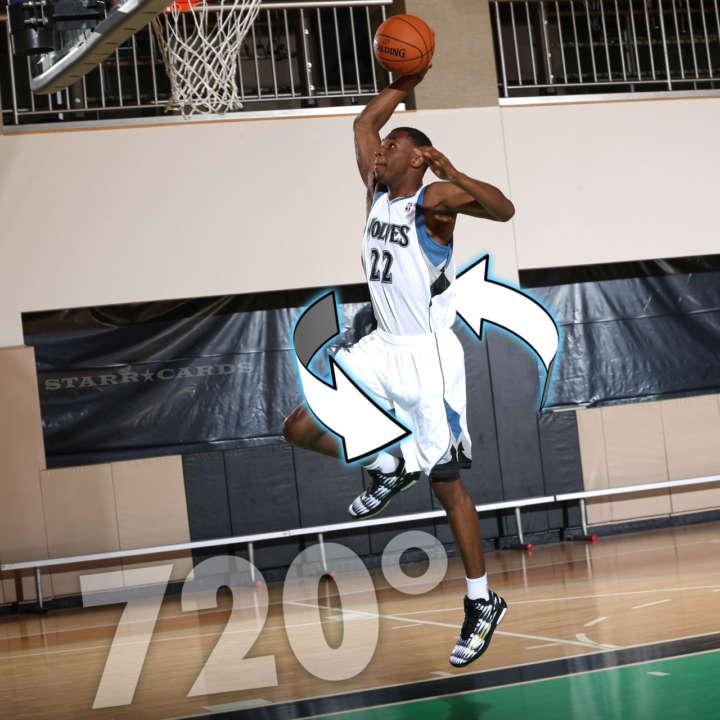 Minnesota Timberwolves star Andrew Wiggins attempts 720 dunk