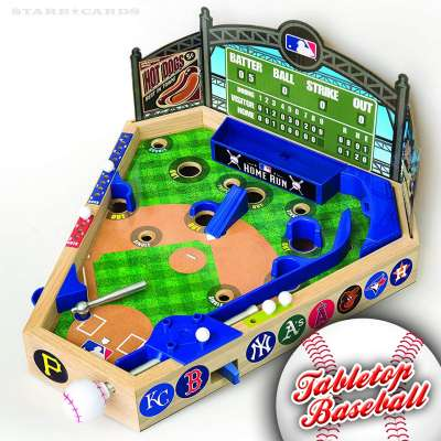 MLB Pinball Baseball tabletop baseball game from Merchant Ambassador