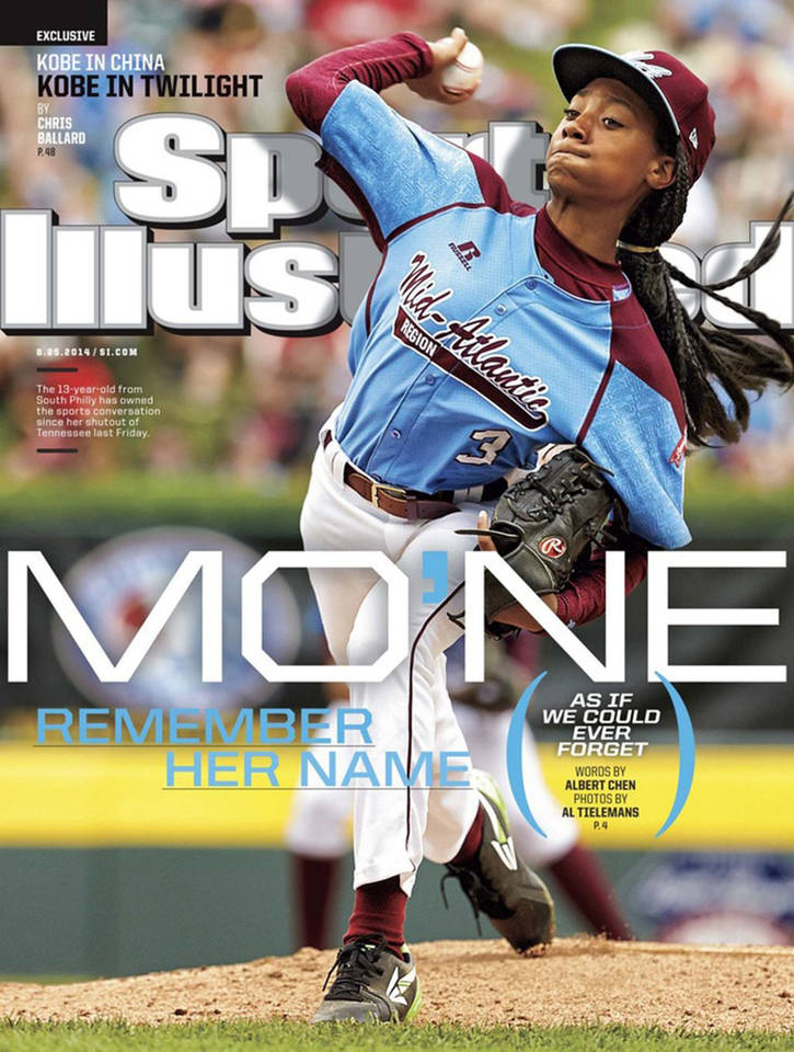 Mo'Ne Davis Sports Illustrated cover