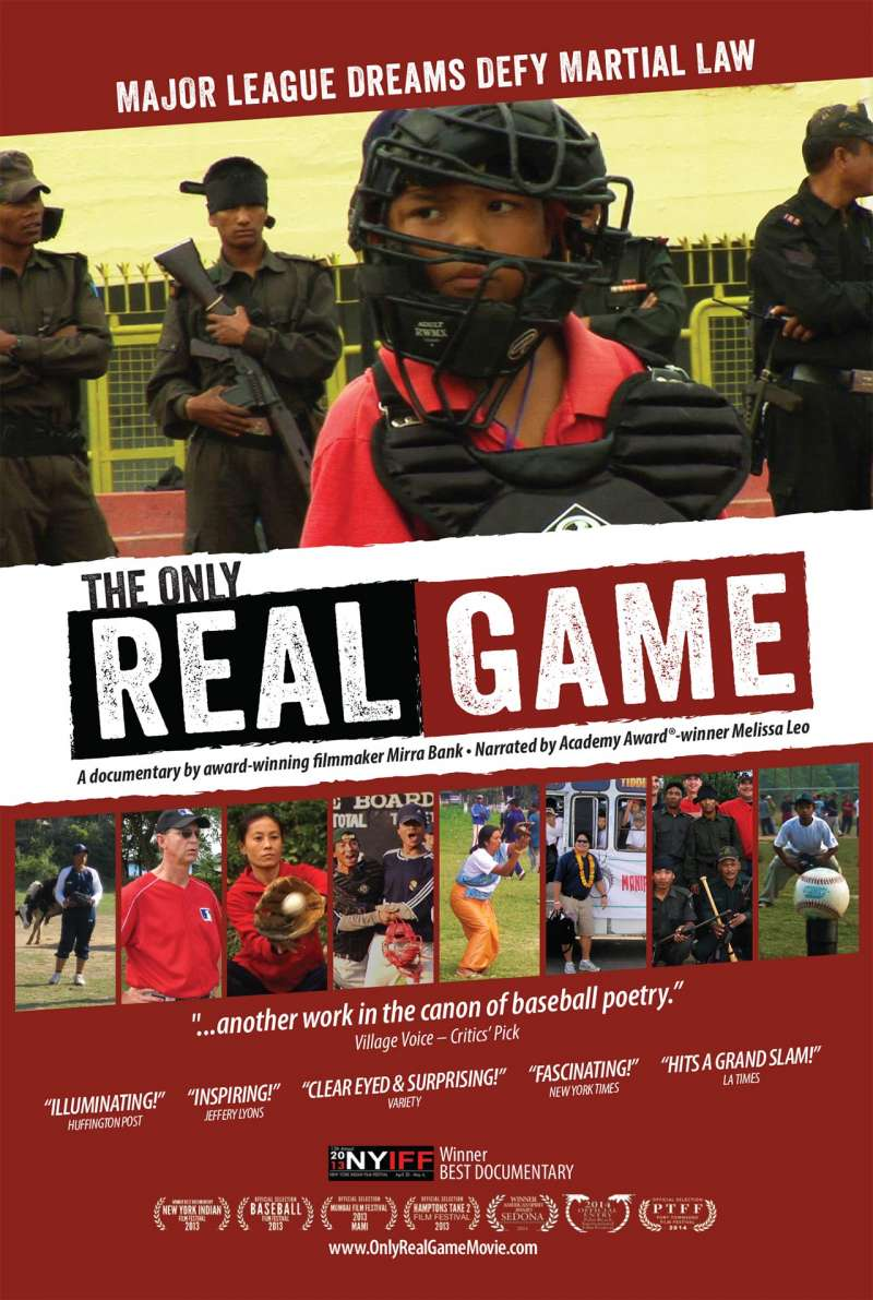 Movie poster for 'The Only Real Game'