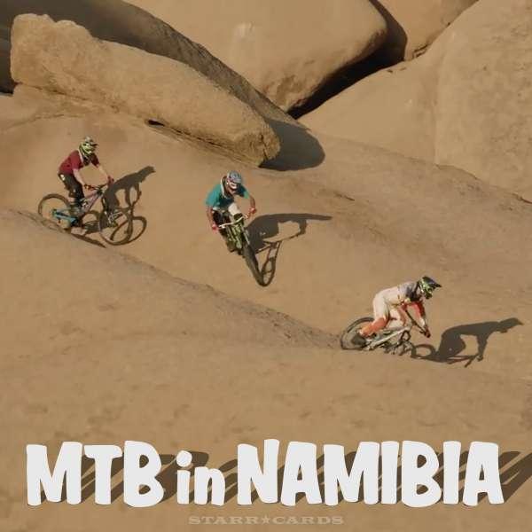 MTB in Namibia, Africa with Andi Tillmann, Kyle Jameson and Michi Tillmann