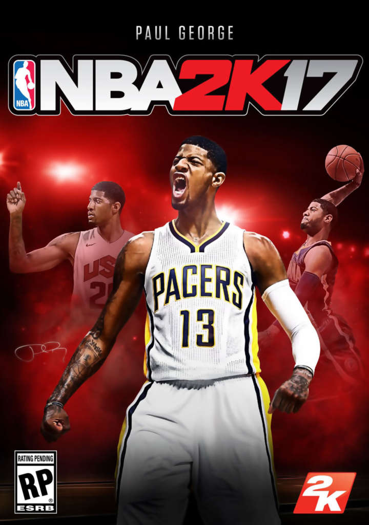NBA 2K17 features Pacers star Paul George on the cover