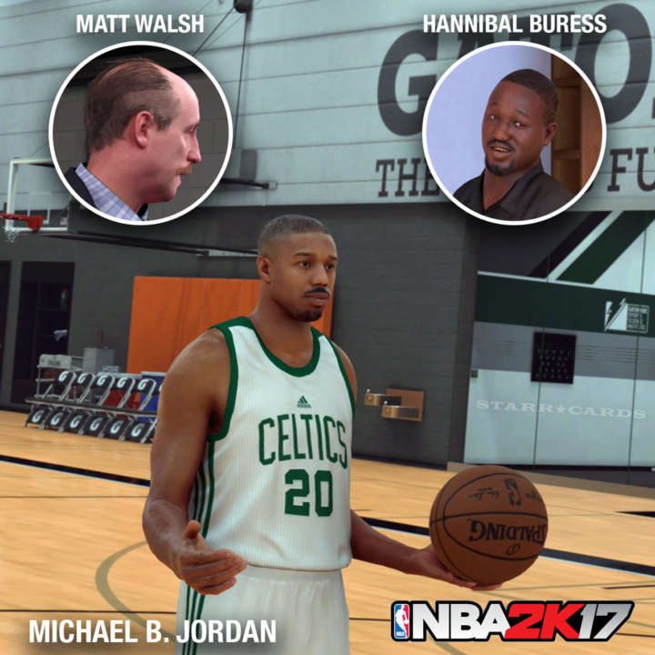NBA 2K17 MyCareer starring Michael B. Jordan, Matt Judge and Hannibal Buress