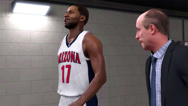 NBA 2K17's MyCareer with actor Matt Walsh