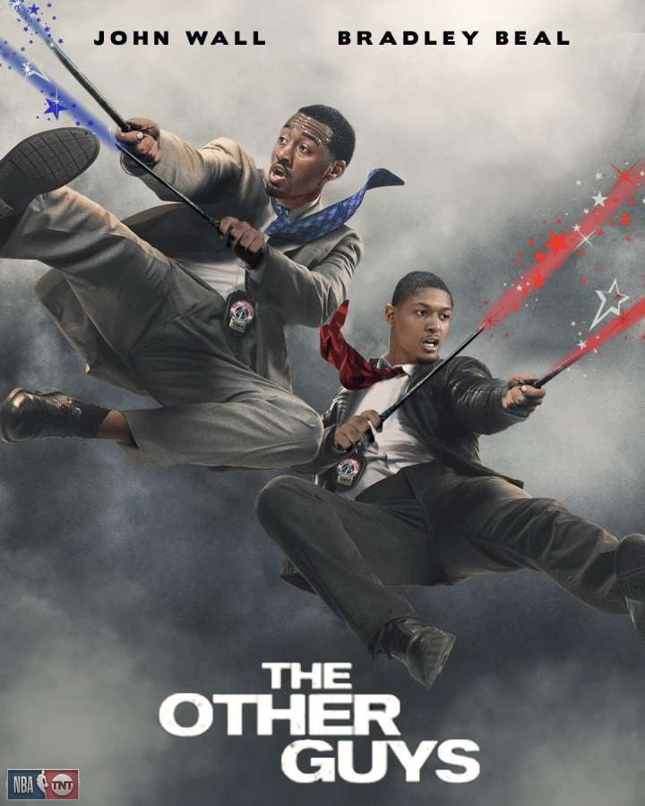 NBA Movie Remakes: John Wall and Bradley Beal in 'The Other Guys'
