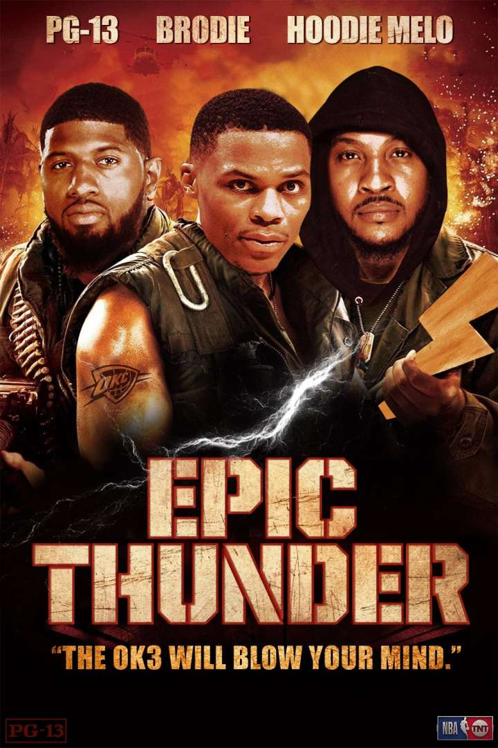 NBA Movie Remakes: Paul George, Russell Westbrook and Carmelo Anthony in 'Epic Thunder'