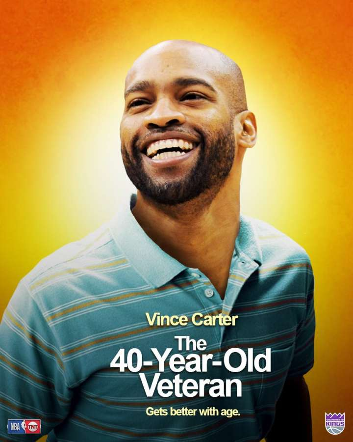 NBA Movie Remakes: Vince Carter in 'The 40-Year-Old Veteran'