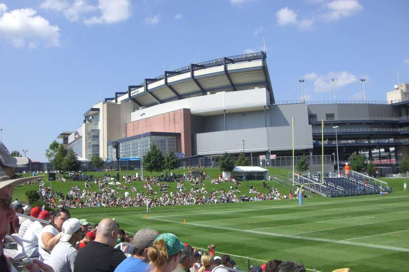 New England Patriots' Gillette Stadium