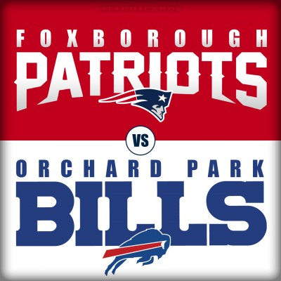 New England Patriots vs Buffalo Bills or Foxborough Patriots vs Orchard Park Bills?