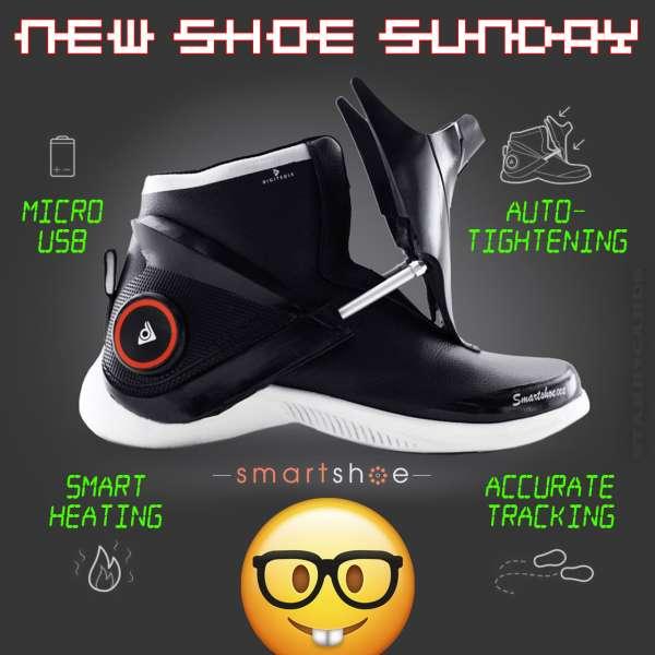 New Shoe Sunday: Digitsole Smartshoe