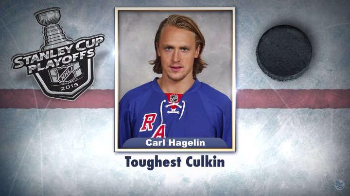 "New York Rangers winger Carl Hagelin on ""Tonight Show Superlatives"" read by Jimmy Fallon"