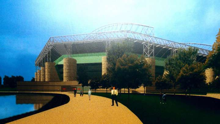 Newcastle United FC's proposed Town Moor Stadium