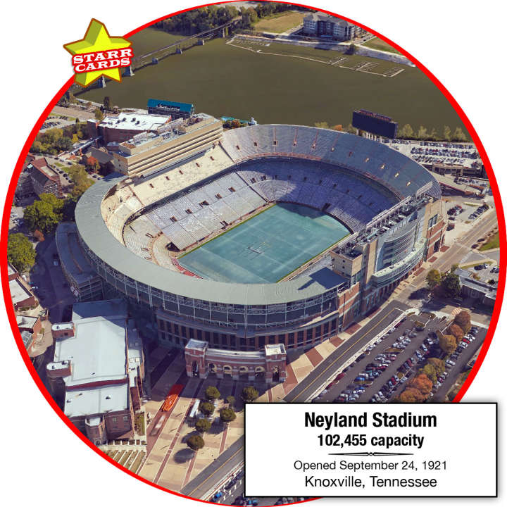 Neyland Stadium, Knoxville, Tennessee: Home of the Tennessee Volunteers