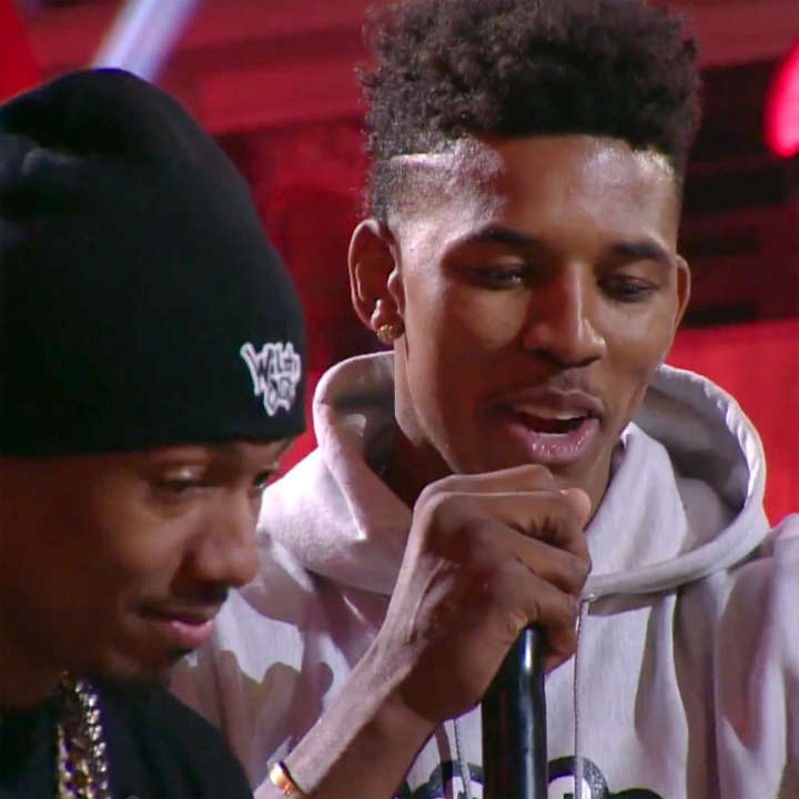 Nick Young vs Nick Cannon on MTV's 'Wild 'N Out'
