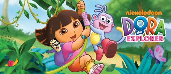 Nickelodeon's Dora The Explorer gets a shout out from Andrew Luck