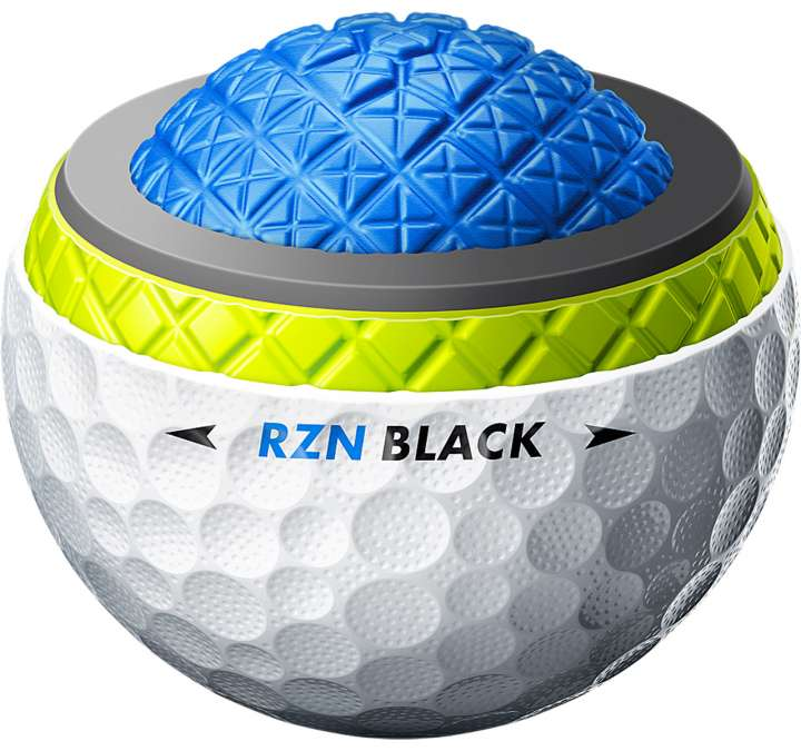 Nike RZN Tour Black cutaway view