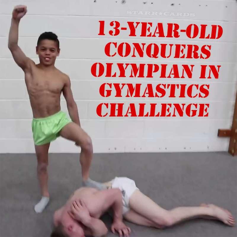 Olympian Nile Wilson defeated by 13-year-old gymnastics phenom Simon Toussaint