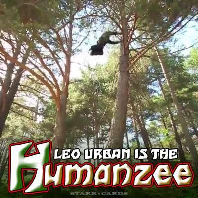 Part man, part chimpanzee, Leo Urban is all Humanzee