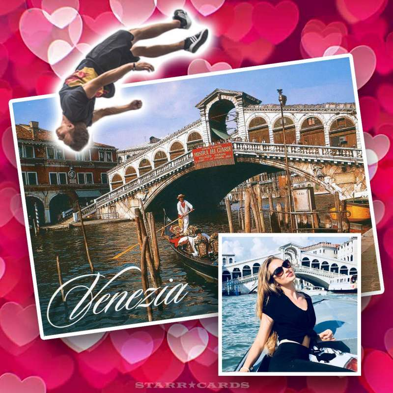 Pasha the Boss goes freerunning after his girlfriend in Venice, Italy