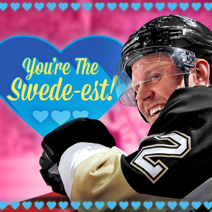 Patric Hörnqvist Valentine's Day card