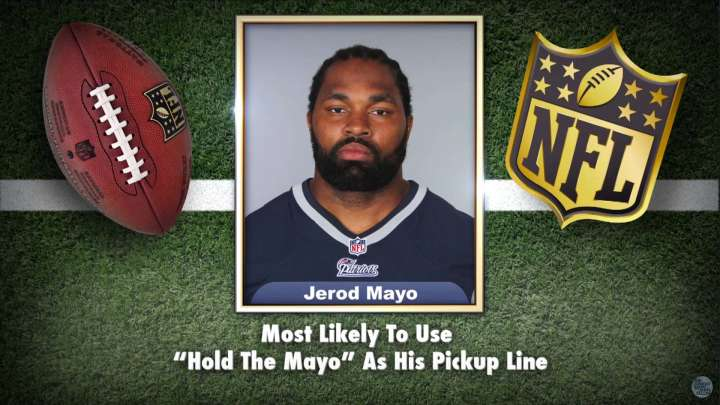 Patriots' Jerod Mayo makes the list on Tonight Show Superlatives