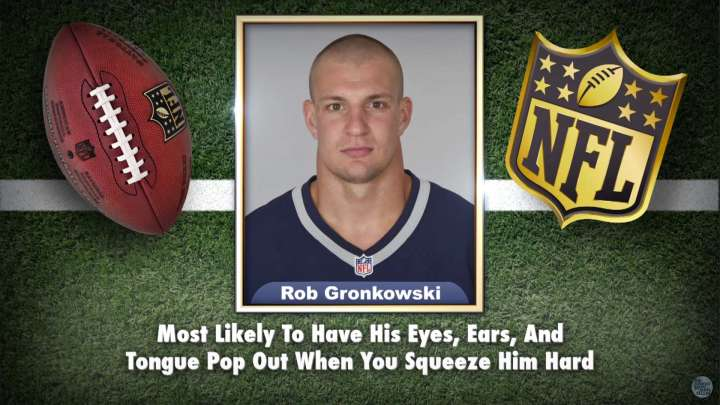 Patriots' Rob Gronkowski makes the list on Tonight Show Superlatives