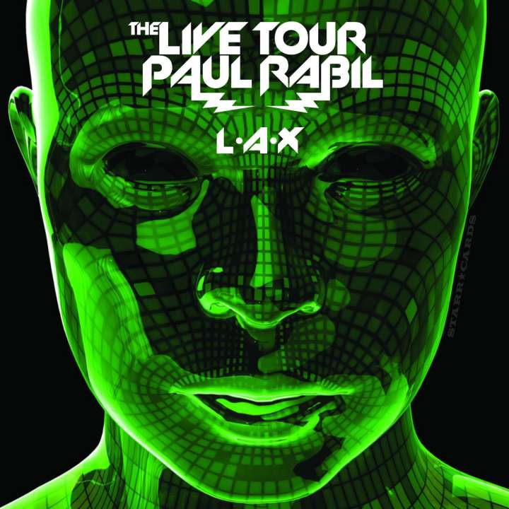 Paul Rabil Live Tour parody of 'The E.N.D.' album cover from the Black Eyed Peas