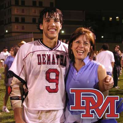 Paul Rabil with DeMatha Catholic Stags lacrosse