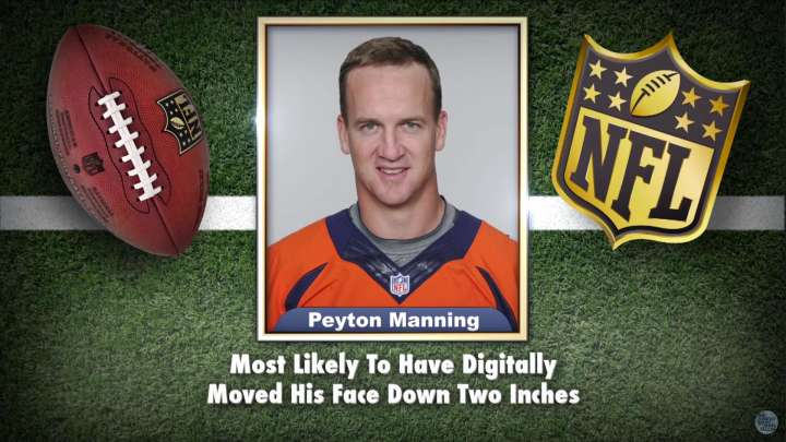 Peyton Manning featured on 'Tonight Show' Superlatives