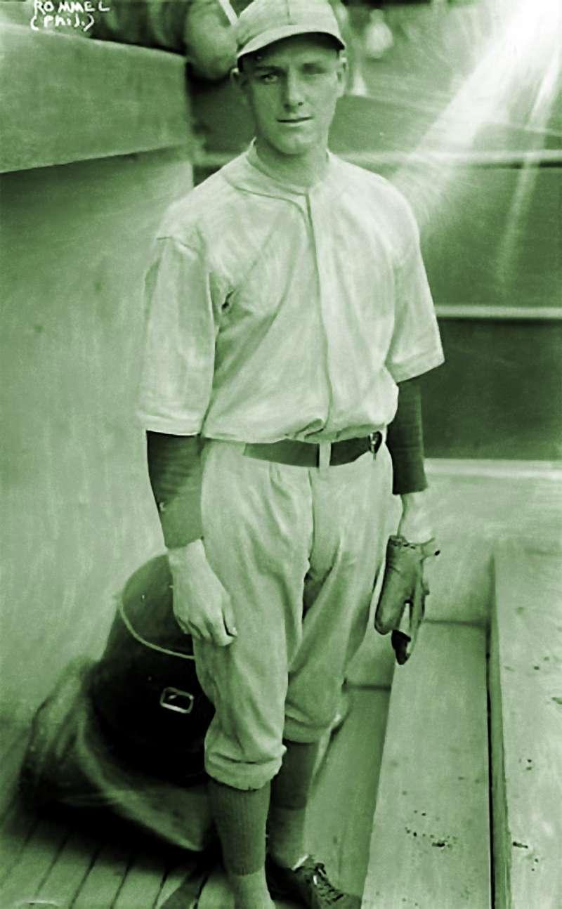 Philadelphia Athletics pitcher Eddie Rommel