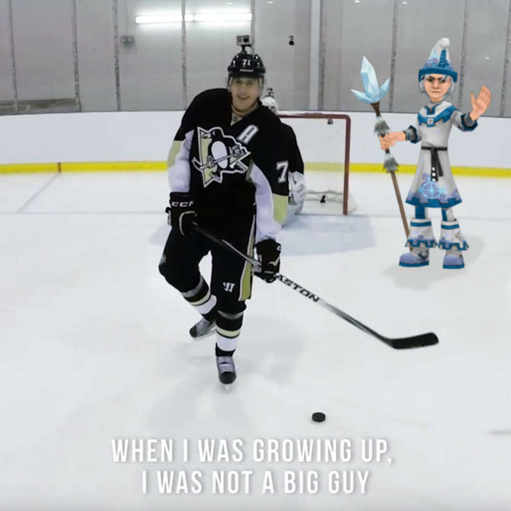 Pittsburgh Penguins center Evgeni Malkin is an ice wizard