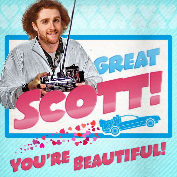 Pittsburgh Penguins Valentine from Scott Wilson
