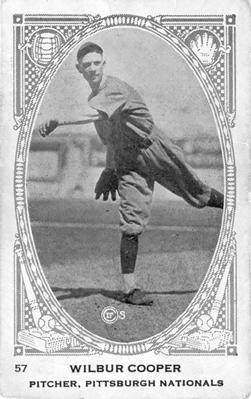 Pittsburgh Pirates pitcher Wilbur Cooper