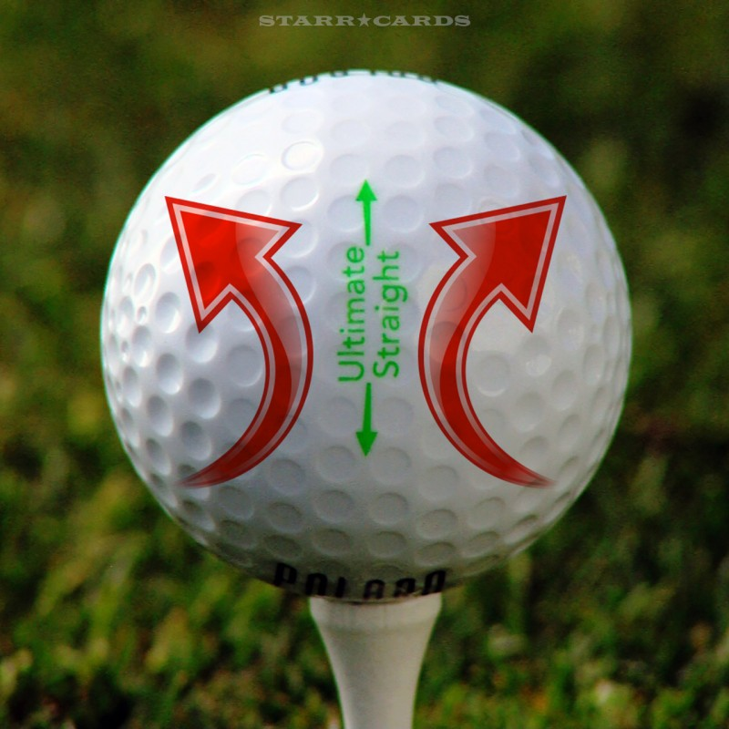 Polara Ultimate Straight Self-Correcting Golf Ball