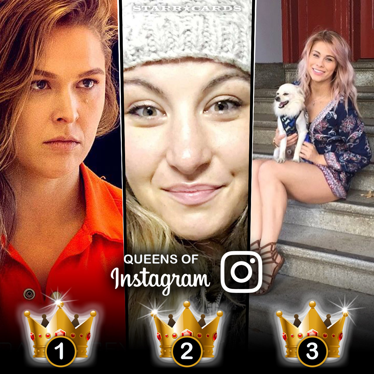 Queens of Instagram: Ronda Rousey, Miesha Tate, Holly Holm
