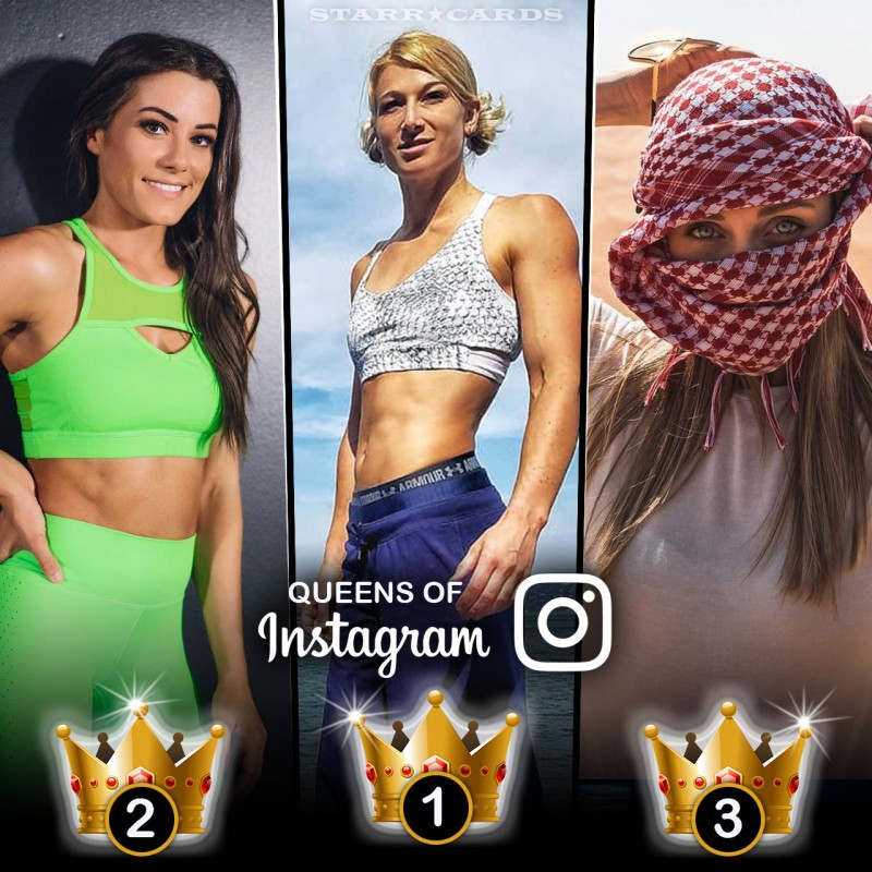 Queens of Ninja Warrior: Jesse Graff, Kacy Catanzaro, Katie McDonnell tops on Instagram
