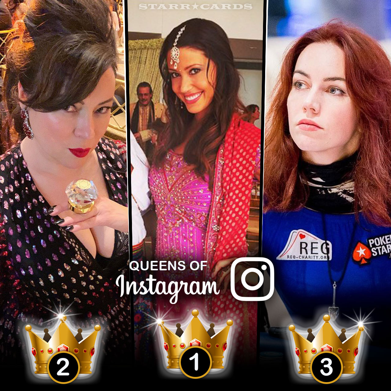 Queens of Poker: Shannon Elizabeth, Jennifer Tilly, Liv Boeree tops in followers on Instagram