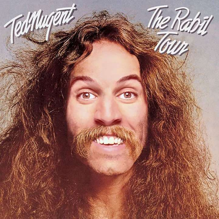Rabil Tour parody of 'Cat Scratch Fever' album cover from Ted Nugent