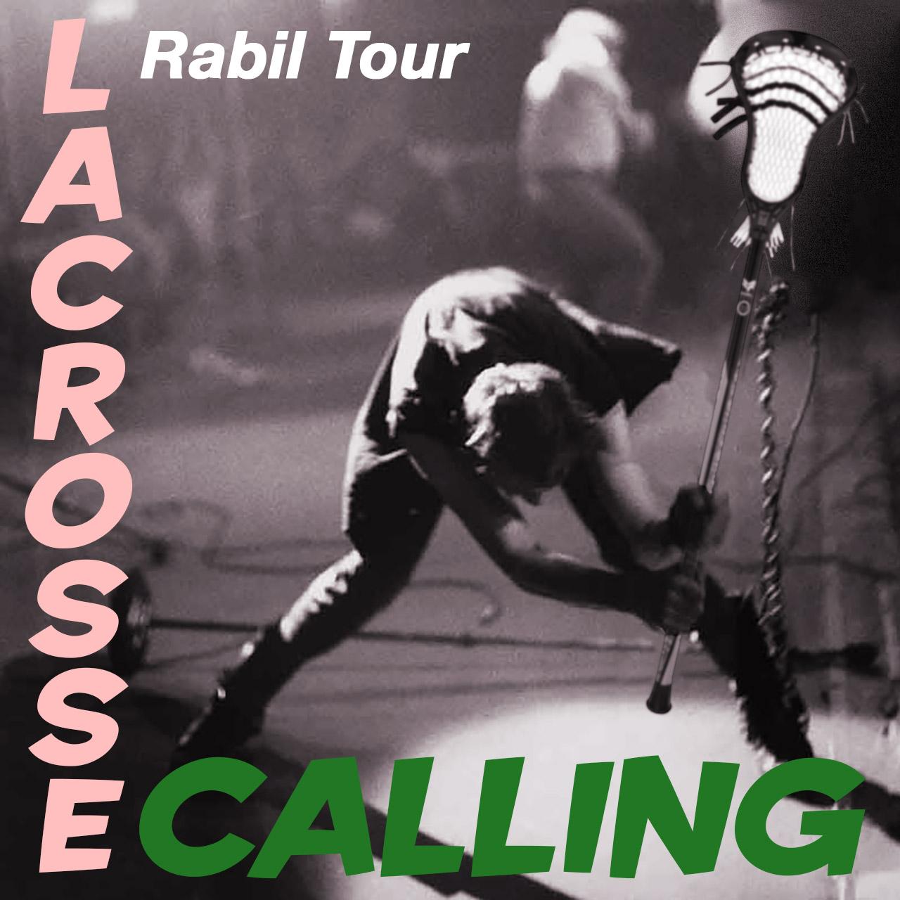 Paul Rabil Live! lacrosse tour parodies classic rock album covers