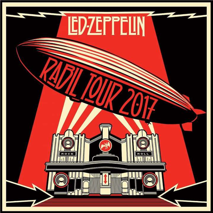 Rabil Tour parody of 'Mothership' album cover from Led Zeppelin