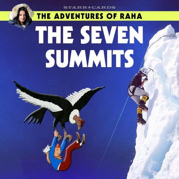 Raha Moharrak and the Seven Summits