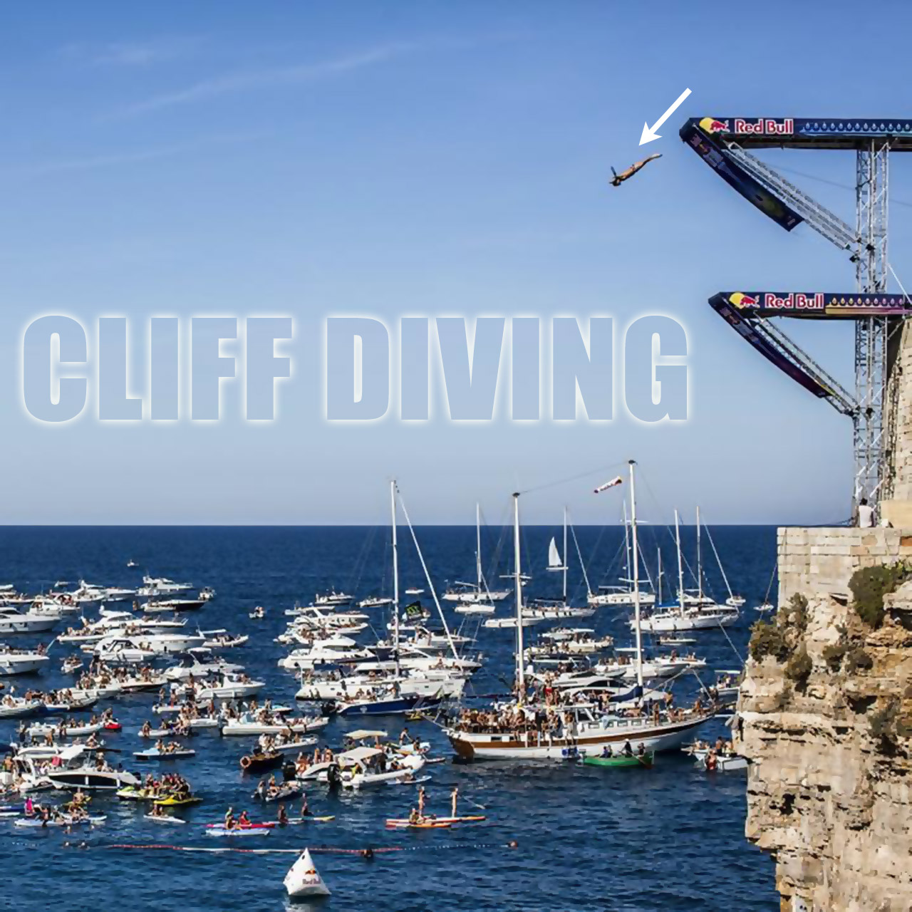 Red Bull Cliff Diving World Series in Italy
