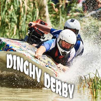 Riverland Dinghy Derby on the Murray River in Australia