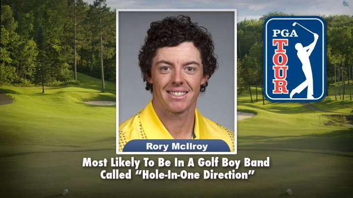"Rory McIlroy on ""Tonight Show Superlatives"" read by Jimmy Fallon"