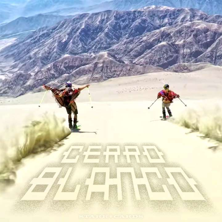 Sand dune skiing on Peru's Cerro Blanco with GoPro