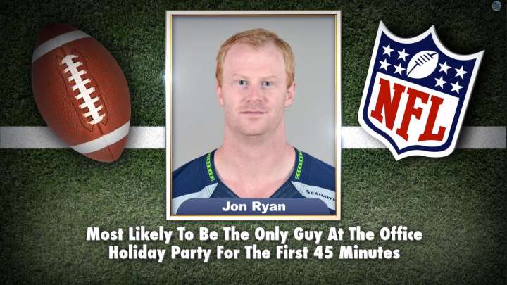 "Seahawks' Jon Ryan on ""Tonight Show Superlatives"" read by Jimmy Fallon"