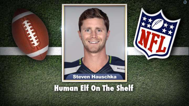 "Seahawks' Steven Hauschka on ""Tonight Show Superlatives"" read by Jimmy Fallon"